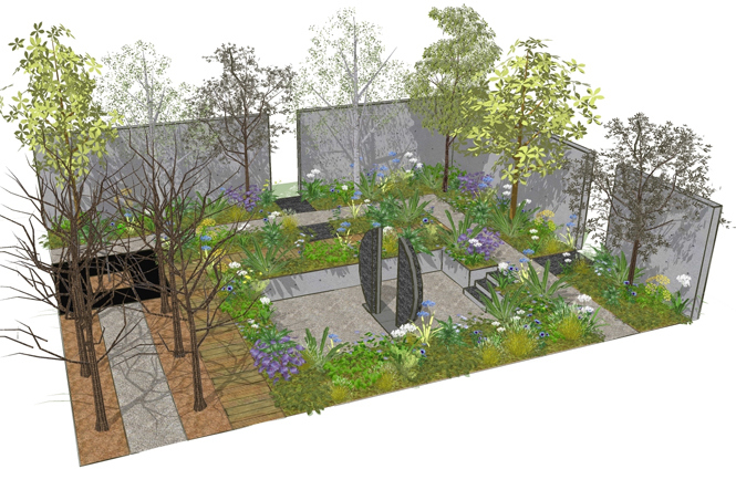 The Fera Garden Stop the Spread at Chelsea Flower Show 2013