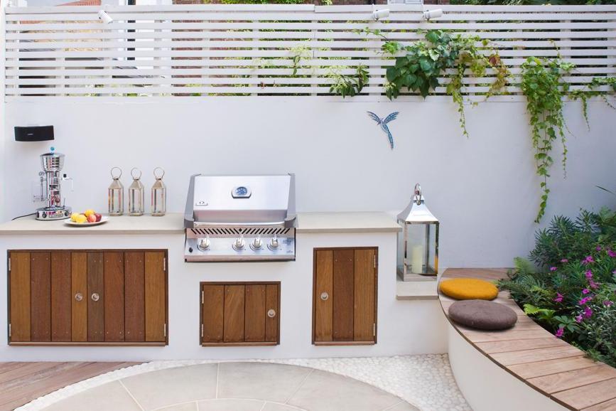 Jak zaprojektować nowoczesny ogródek za domem? -> Kuchnia Letnia Maja W Ogrodzie