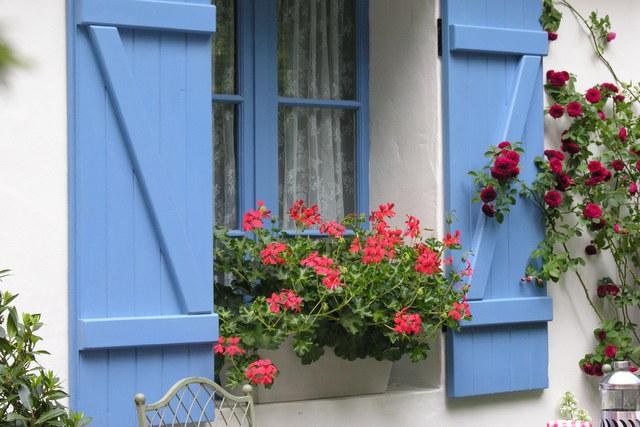Ogródki wiejskie we Francji