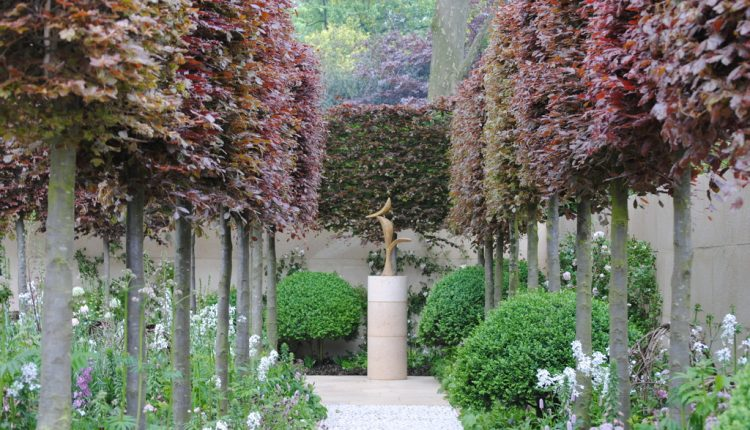 Szampański ogród na Chelsea Flower Show 2012