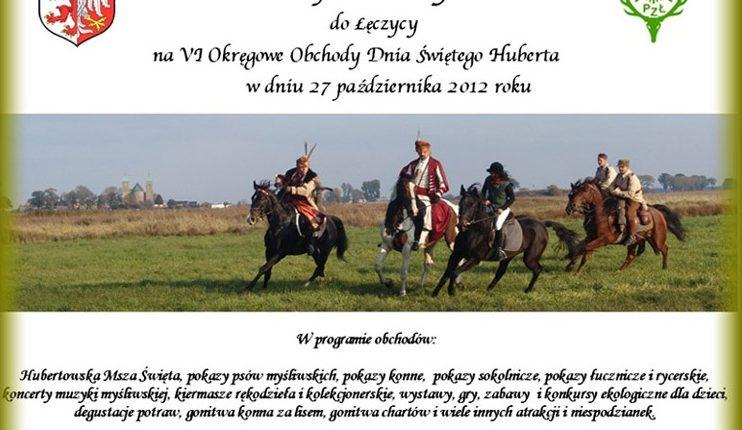 Hubertus w Łęczycy