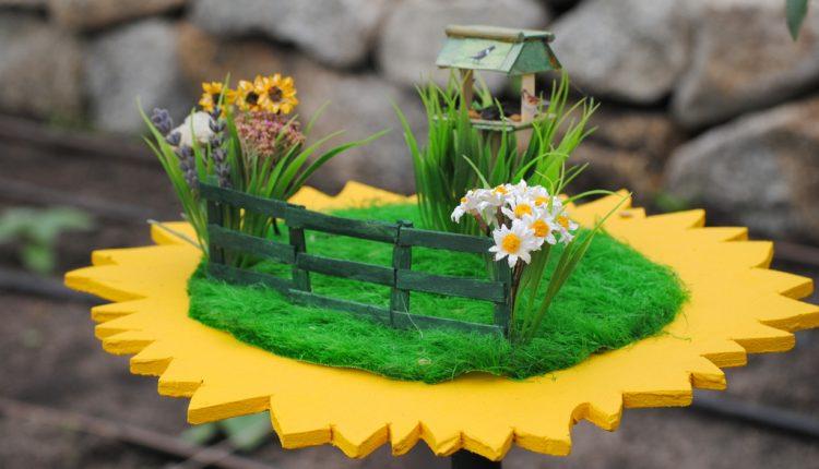 Malutki ogródek na Dzień Dziecka