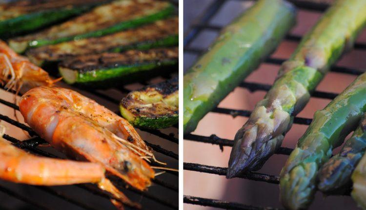 Warzywne grillowanie