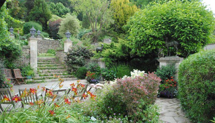 Edwardiańskie ogrody w Iford Manor