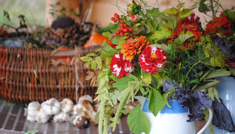 Kolorowy bukiet na początek jesieni