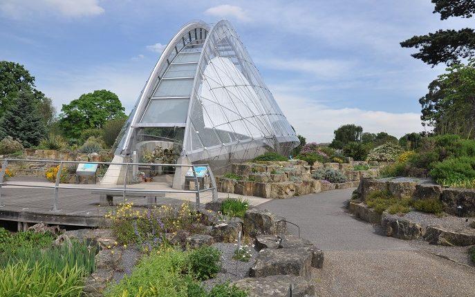 Ogród skalny w Kew Gardens