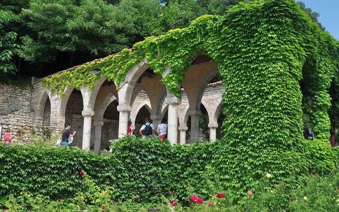 Bałczik – ogrody Królowej Marii