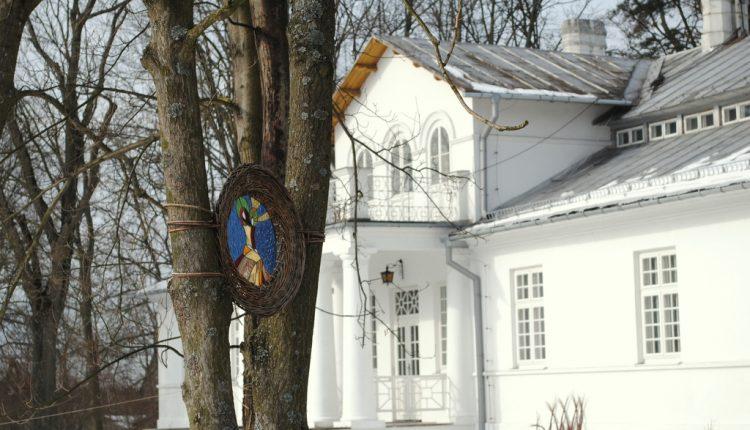 Stare założenie dworsko-parkowe w Łucznicy obok Pilawy