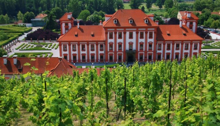 Barokowy pałac i ogrody: Zamek Trojski w Pradze