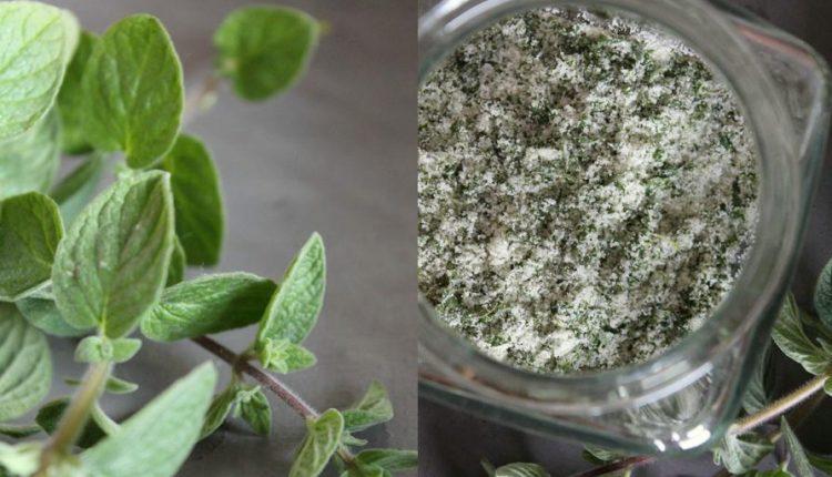 Aromatyczna sól ziołowa własnej roboty