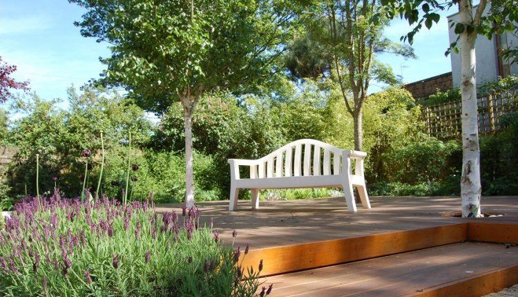 Familijny ogród w Londynie
