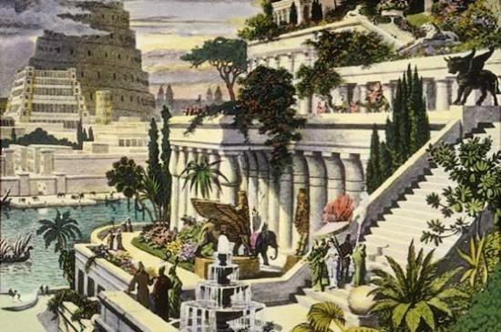 Krajobrazowa mozaika rodem ze starożytności