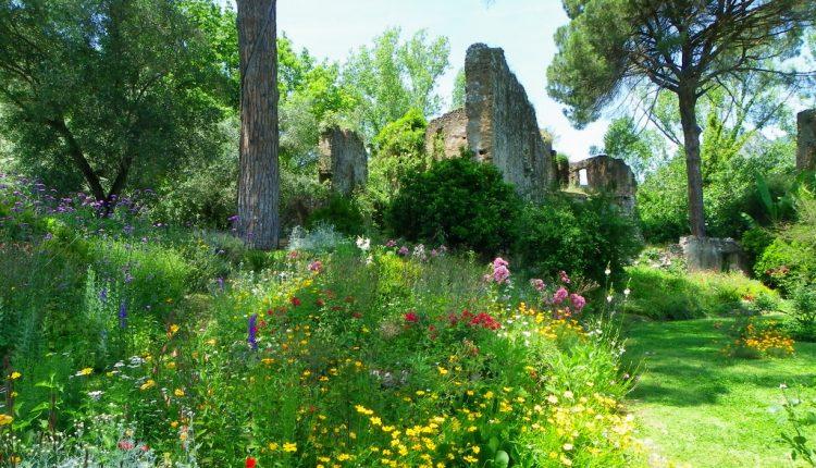 Ogród włoski w angielskim stylu