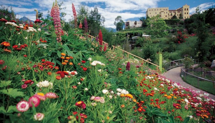 Ogrody cesarzowej Sissi w Południowym Tyrolu