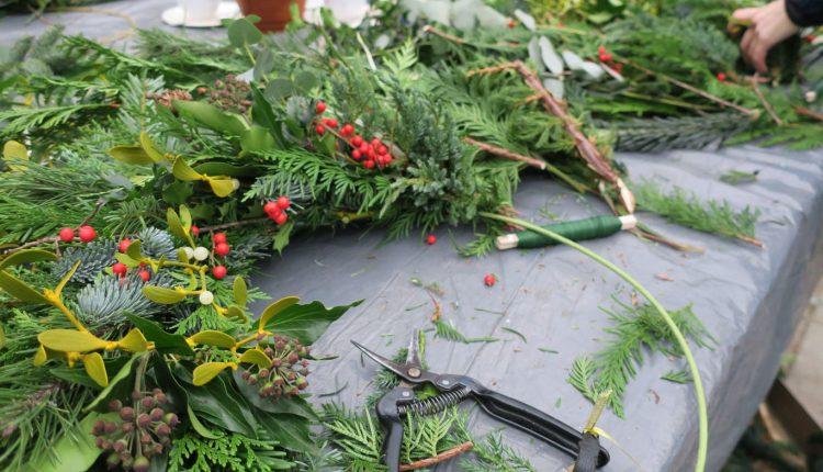 Ekologiczne wianki świąteczne